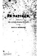 Le Vatican : extrait des lettres écrites d'Italie en 1824 / par E.-J. Delécluze