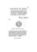 L'arcadie de messire Jacques Sannazar ,... mise d'italien en françoys par Jehan Martin,...