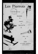 Les Pierrots : fantaisie en vers / de Mélandri ; illustrée par Willette