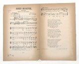 Adieu Musette : mélodie / paroles de Jules Chocas ; musique de Jules Jacob ; chantée par Mr Sarrus