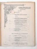 Gymnastique du violoncelliste en 3 livres
