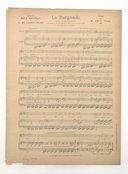 La Burgonde : opéra en quatre actes / livret de Emile Bergerat et C. de Sainte-Croix ; musique de M. Paul Vidal