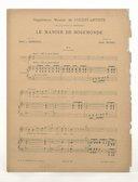 Le manoir de Rosemonde / poésie de Robert de Bonnières ; musique de Henri Duparc