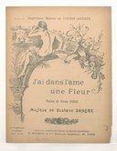 J'ai dans l'âme une fleur / paroles de Victor Hugo ; musique de Gustave Sandré