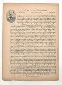 Les larmes humaines / poème de Tioutchev mis en vers français par C. Mendès ; musique de C. Erlanger