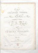 Trois grands Trios pour piano-forte, violon et basse... Opéra 3