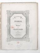 Etudes caractéristiques pour violon, op 18