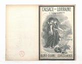 L'Alsace-Lorraine : au tombeau de Gambetta : chant patriotique / paroles de Villemer-Delormel ; musique de Léopold de Wenzel