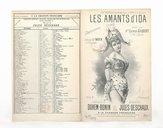 Les amants d'Ida : chansonnette / paroles de Duhem-Bonin ; musique de Jules Deschaux ; créée par Mlle Carmen Gilbert à la Cigale, créée par Mlle Naya à l'Horloge