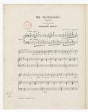 Ma Normandie, romance. Paroles et musique de Frédéric Berat