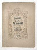 Sämmtliche Werke : für Pianoforte. Band I, Sonaten / von C. M. von Weber ; revidirt und mit Fingersatz versehen von Louis Koehler und Rich. Schmidt