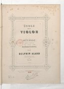 Ecole du violon, Méthode complète et progressive à l'usage du Conservatoire