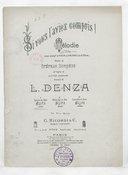 Si vous l'aviez compris ! : mélodie (avec accomp.t de violon ou violoncelle ad libitum) / paroles de Stéphen Bordèse, de l'anglais de Clifton Bingham ; musique de L. Denza...