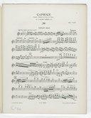 Caprice d'après l'étude en forme de valse, op. 52 N° 6 : pour violon avec accompagnement d'orchestre / par Eug. Ysaÿe ; violon avec accompagnement de piano