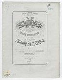 Danse macabre : poëme symphonique : op. 40 / par Camille Saint-Saëns Saint-Saëns ; d'après une poésie de Henri Cazalis ; à 4 mains par Guiraud