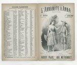 L'annamite à Anna : chansonnette / paroles de Albert Pajol ; musique de Aug. Meyronnet ; créée par Mlle Naya à Ba-ta-clan, chantée par Mlle Duclerc au Concert Parisien