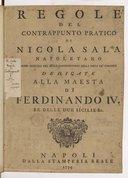 Regole del contrappunto pratico di Nicola Sala 2 tomes