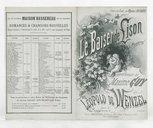 Le baiser de Lison : chanson / paroles de Maxime Guy ; musique de Léopold de Wenzel ; créée par Marius Richard à la Scala