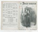 Le baiser vainqueur : chanson / paroles de Eugène Baillet ; musique de Tac-Coen ; créée par Mialet à la Pépinière et Sarrus au XIX[e] Siècle
