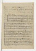 Duo d'Oedipe / [Antonio Sacchini] ; avec accompagnement de clavecin par M. Lachnith
