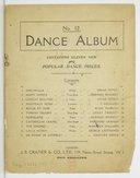 Dance album. No. 12, Containing eleven new and popular dance pieces / Oscar Fetras, Norman Kennedy, P. Bucalossi... [et al.]