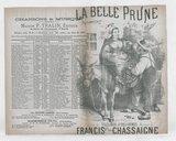 La belle prune : paysannerie / paroles de Villemer & Delormel ; musique de Francis Chassaigne ; créée par Mme Judic