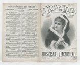 La belle Zilda : chansonnette / paroles de Jules César ; musique de J. Lacoustène ; créée par Mlle Valti à la Scala et Mlle Diony à l'Eldorado