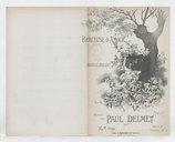 Berceuse d'amour / poésie de Maurice Boukay ; musique de Paul Delmet