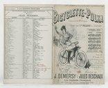 Bicyclette-polka : chanson à refrain / paroles de J. Demersy ; musique de Jules Deschaux ; créée par Mlle Polaire à l'Eldorado