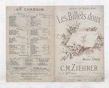 Les billets doux : polka chantée / paroles de Martial Teneo ; musique de C. M. Ziehrer ; chantée par Melle Lucette de Verly