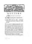 Mémoire justificatif de Jean-François Carteaux, général en chef de l'armée des Alpes, commandant antérieurement celle destinée à repousser les rebelles du Midi