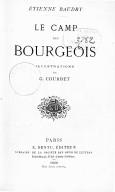 Le camp des bourgeois / Etienne Baudry ; illustrations de G. Courbet