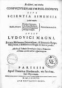 Ex libro cui titulus Confucius Sinarum philosophus, sive Scientia sinica latine exposita...