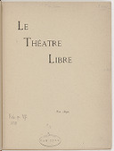Le Théâtre libre