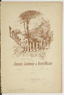 Échos d'Allemagne. Vol. 3 / poésie française de Messieurs Adolphe Larmande & Victor Wilder ; [musique de Beethoven, H. Proch, F. Schubert... [et al.]