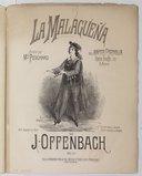 Maître Péronilla, opéra bouffe en 3 actes [morceaux détachés chant et piano par Léon Roques]