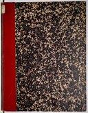 Namouna, 1° et 3e rapsodies, parties séparées du quintette à cordes, 1 vol autographié