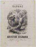 Daphné ! : mélodie / poésie de Jules Verne ; musique de Aristide Hignard