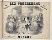 Deux Quadrilles sur Les Porcherons, opéra d'Albert Grisar, par P. Musard