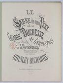 Le Sabre de mon père, de la grande Duchesse de Gerolstein, opéra-bouffe de J. Offenbach, transcription pour piano par Brinley Richards