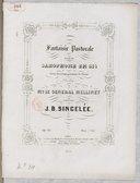 Fantaisie pastorale pour le saxophone en si ♭ avec accompagnement de piano... Op. 56
