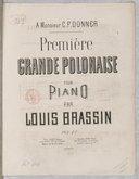 Polonaise (Première grande) pour piano