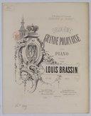 Polonaise (Deuxième grande) pour piano. Op. 18