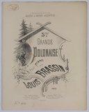 Polonaise (Troisième grande) pour piano. Op. 20