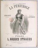 La Périchole : opéra bouffe en 2 acte / musique de J. Offenbach ; polka composée et arrangée pour piano par L. Roques