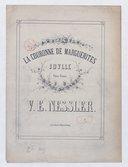 La Couronne de marguerites : idylle pour piano / V. E. Nessler