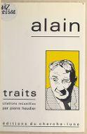 Traits : citations / Alain ; recueillies par Pierre Heudier