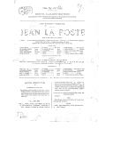 Jean la Poste : drame en 5 actes et 10 tableaux / Dion Boucicault, Eugène Nus
