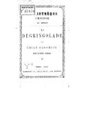 La Dégringolade, par Émile Gaboriau. Série 2, T. 2
