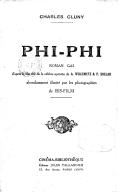 Phi-Phi : roman gai : d'après le film tiré de la célèbre opérette de A. Willemetz, et F. Sollar / Charles Cluny